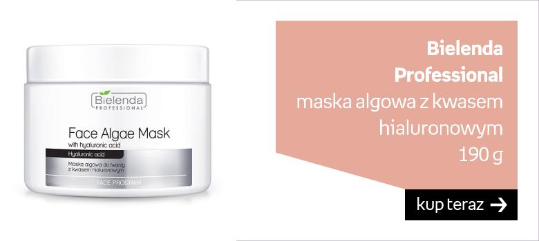 Bielenda Professional maska algowa z kwasem hialuronowym  190 g