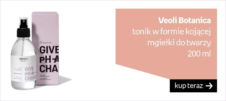Veoli Botanica  tonik w formie kojącej mgiełki do twarzy 200 ml