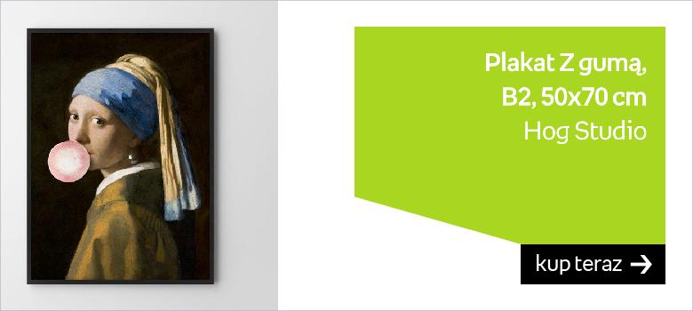 Plakat HOG STUDIO Z gumą, B2, 50x70 cm