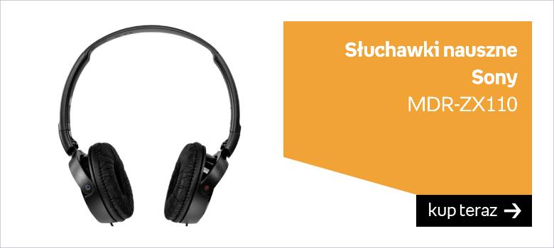 Słuchawki nauszne sony