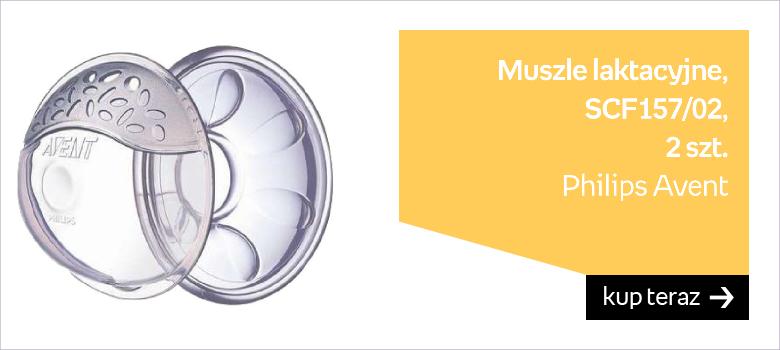 Philips Avent, Muszle laktacyjne, SCF157/02, 2 szt.