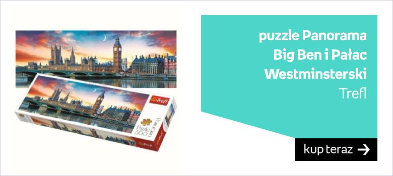 puzzle Panorama  Big Ben i Pałac Westminsterski Trefl