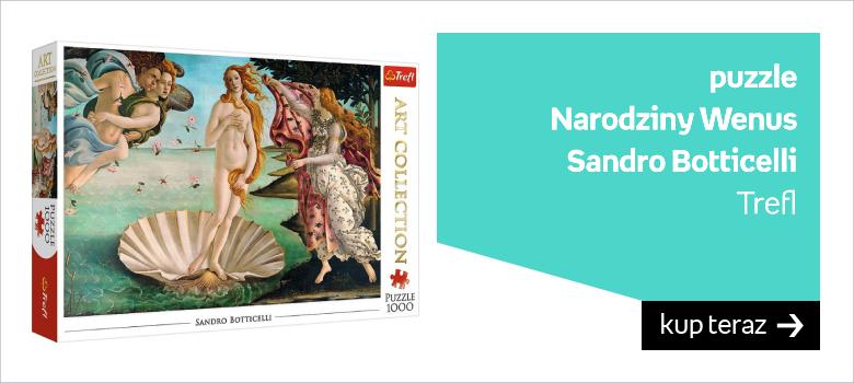puzzle  Narodziny Wenus  Sandro Botticelli Trefl