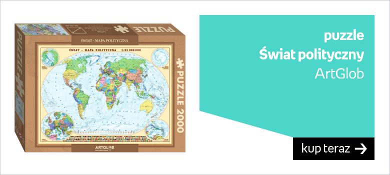 puzzle  Świat polityczny ArtGlob