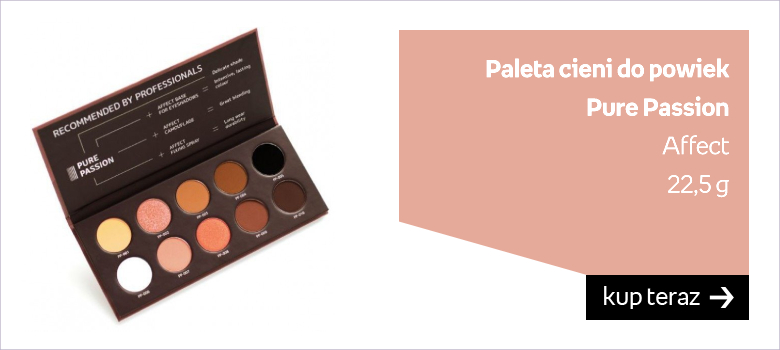 Paleta cieni do powiek Pure Passion Affect   22,5 g