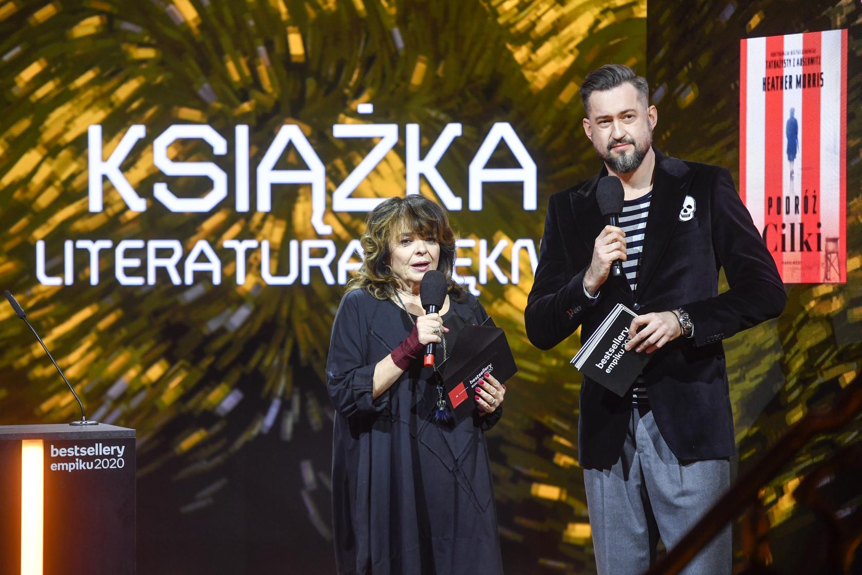 Katarzyna Grochola i Marcin Prokop Bestsellery Empiku 2020 Gala