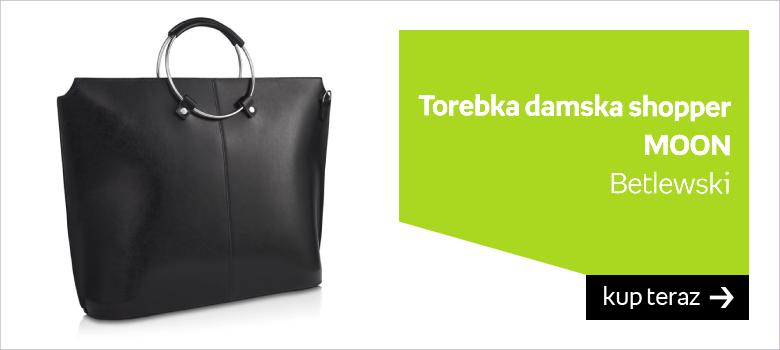 Betlewski, torba shopper, MOON