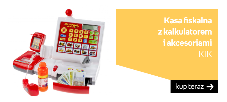 Kasa fiskalna z kalkulatorem KIK