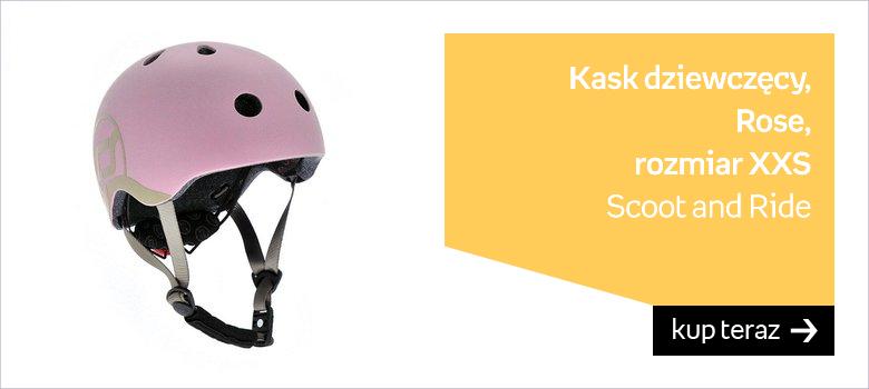 Scoot and Ride, Kask dziewczęcy, Rose, rozmiar XXS