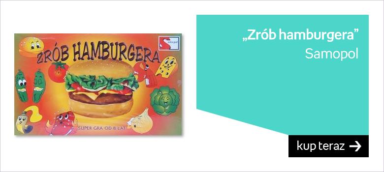Samopol, gra planszowa Zrób hamburgera