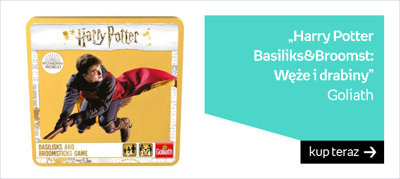 Goliath, gra podróżna Harry Potter Basiliks&Broomst Węże i drabiny