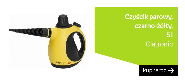 Czyścik parowy CLATRONIC DR 3653, 5 l, czarno-żółty