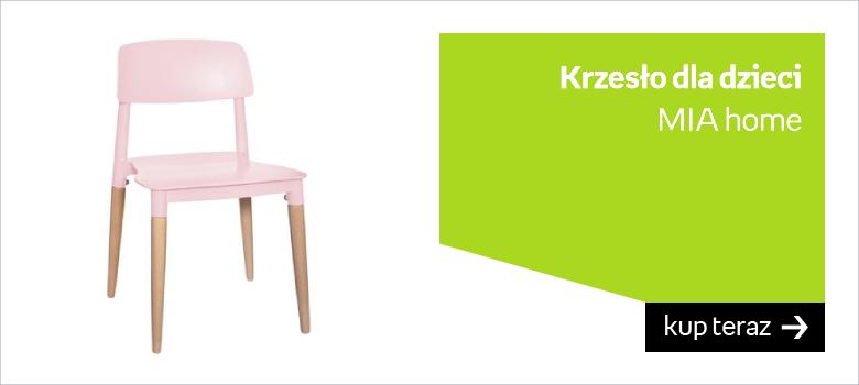 Krzesło do biurka dla dziewczynki