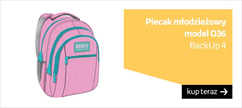 Duży plecak szkolny
