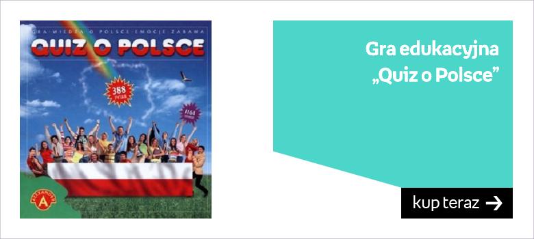 """Gra edukacyjna """"Quiz o Polsce"""""""