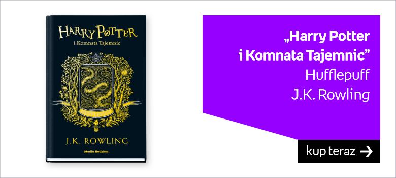 """Harry Potter  i Komnata Tajemnic"" Hufflepuff J.K. Rowling"