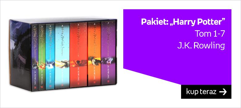 "Pakiet: ""Harry Potter""  Tom 1-7 J.K. Rowling"