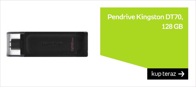 Pendrive KINGSTON DT70, 128 GB