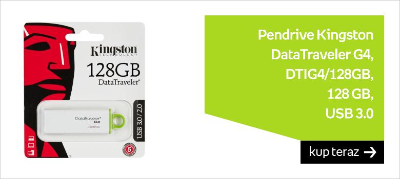Pendrive KINGSTON DataTraveler G4 DTIG4/128GB, 128 GB, USB 3.0