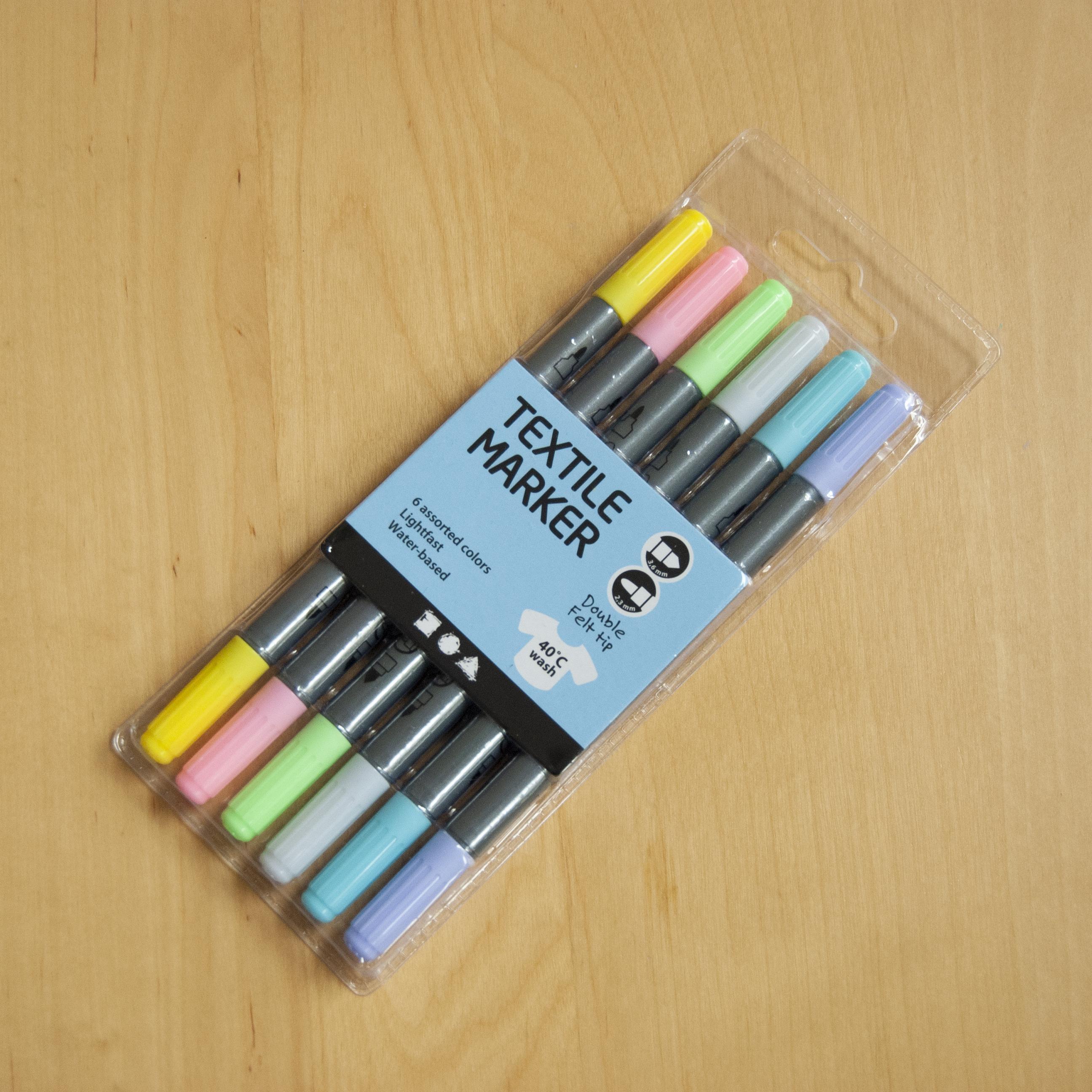 markery do ubrań