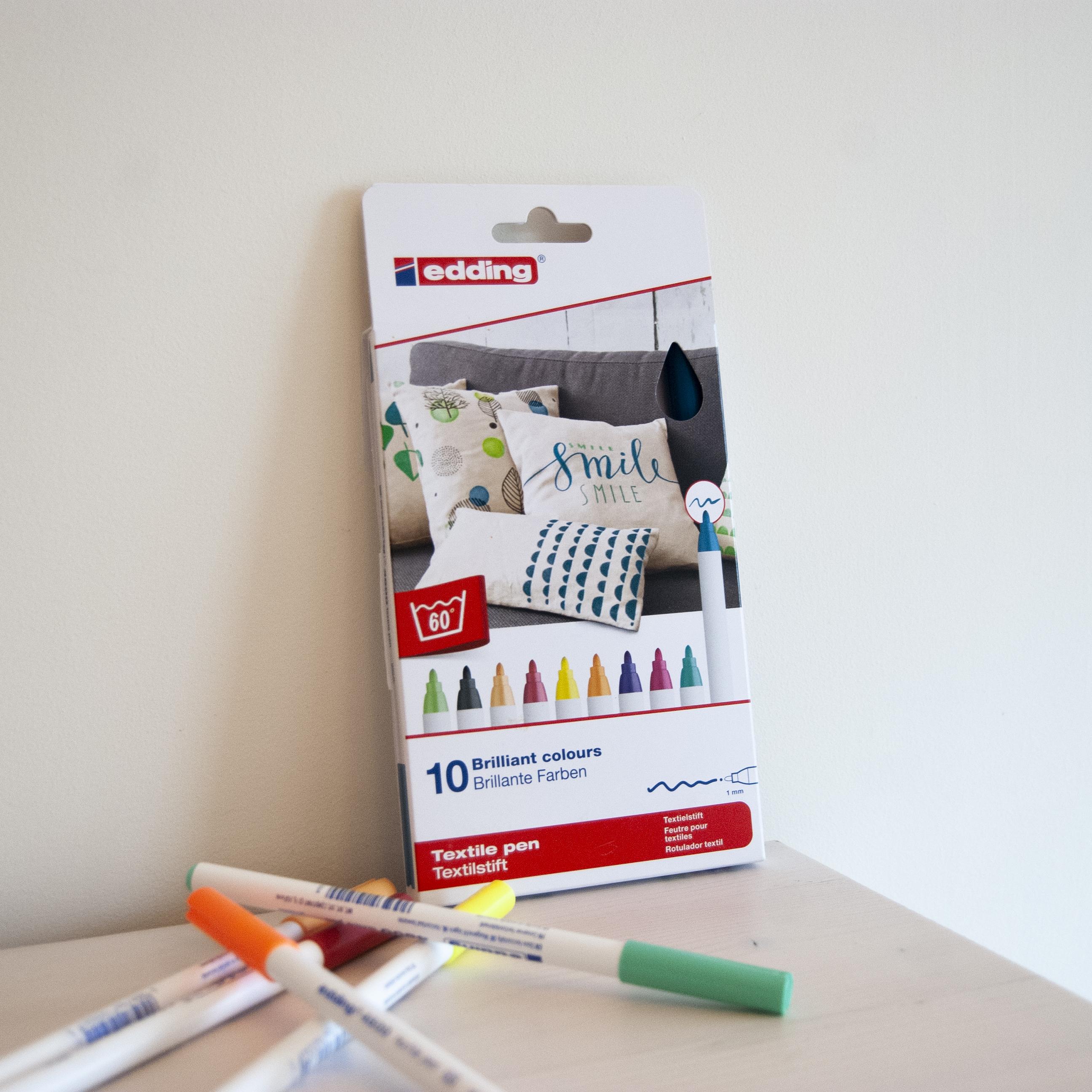 markery tekstylne