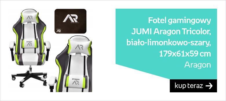 Fotel gamingowy JUMI Aragon