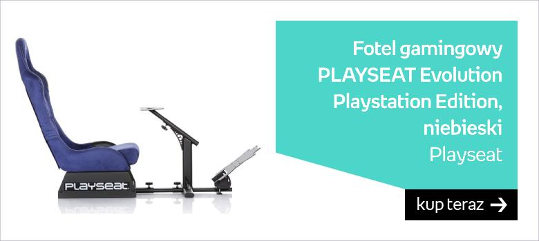 Fotel gamingowy PLAYSEAT Evolution Playstation Edition