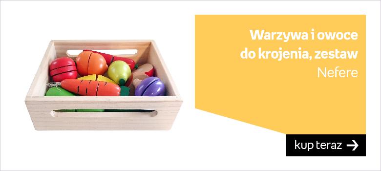 Zabawka warzywa i owoce