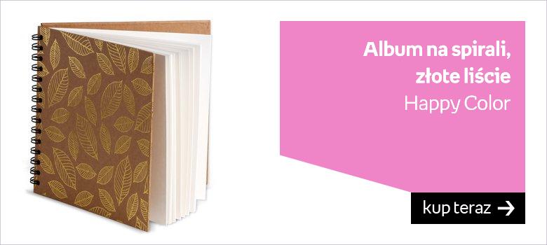 Album do scrapbookingu biały