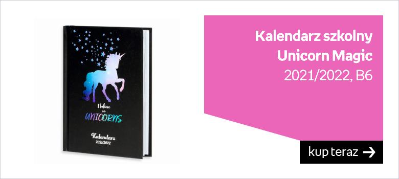 kalendarz unicorn magic