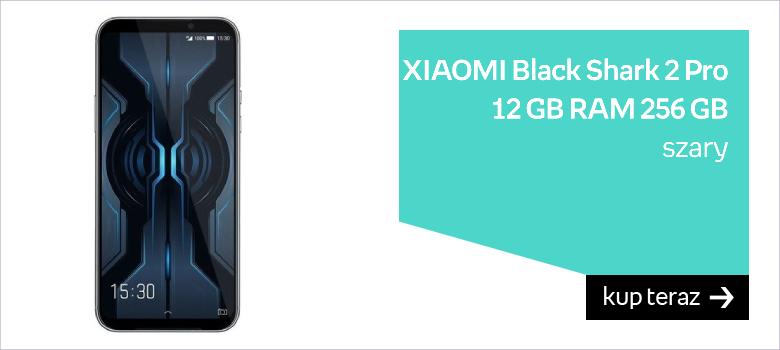 XIAOMI Black Shark 2 Pro, 12 GB RAM, 256 GB, szary