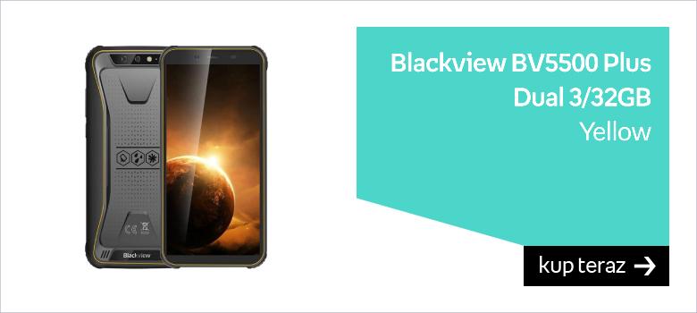 Blackview BV5500 Plus Dual 3/32GB Yellow