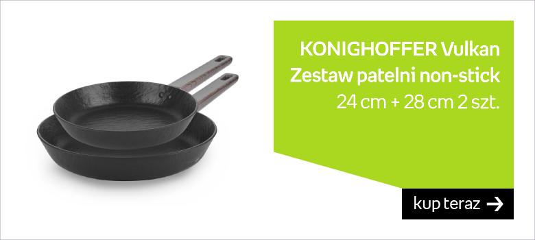 Zestaw patelni non-stick KONIGHOFFER Vulkan, 24 cm + 28 cm, 2 szt.