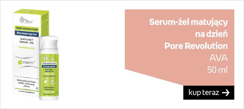 Serum-żel matujący  na dzień Pore Revolution AVA 50 ml