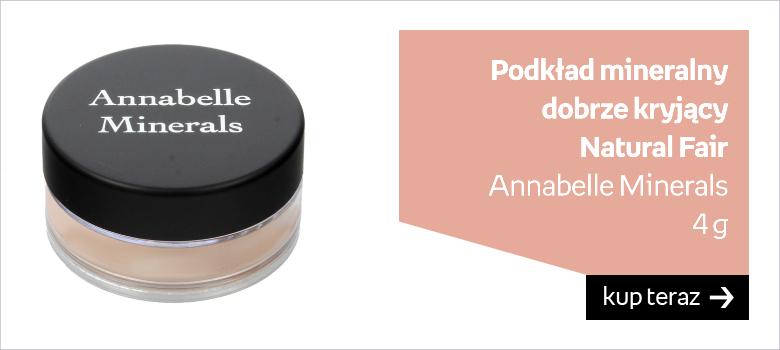 Podkład mineralny  dobrze kryjący  Natural Fair Annabelle Minerals  4 g