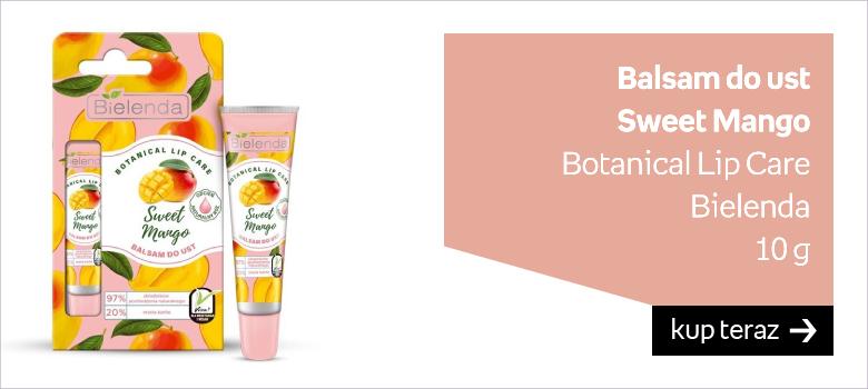 Balsam do ust  Sweet Mango  Botanical Lip Care Bielenda 10 g