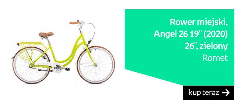 """Romet, Rower miejski, Angel 26 19'' (2020) 26"""", zielony"""
