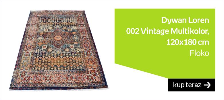 Dywan FLOKO Loren 002 Vintage Multikolor, 120x180 cm
