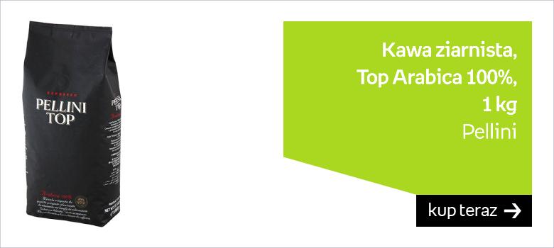 Kawa ziarnista PELLINI Top Arabica 100%, 1 kg
