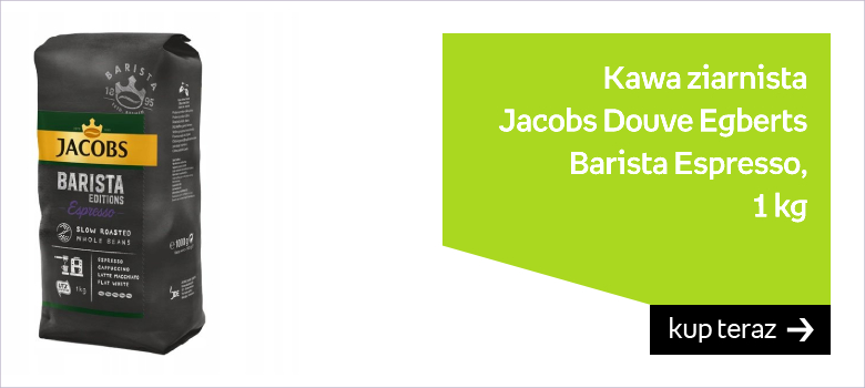 Kawa ziarnista JACOBS DOUWE EGBERTS Barista Espresso, 1 kg