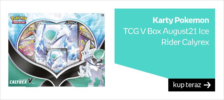 Karty Pokemon  TCG V Box August21 Ice Rider Calyrex
