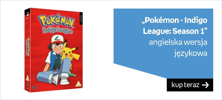 """""""Pokémon - Indigo League: Season 1"""" angielska wersja  językowa"""