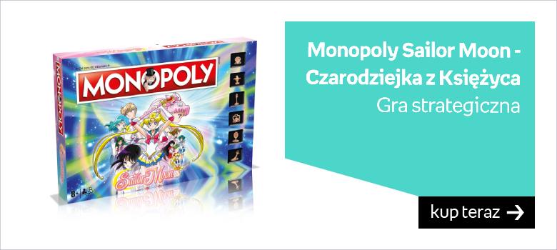 Monopoly Czarodziejka z Księżyca
