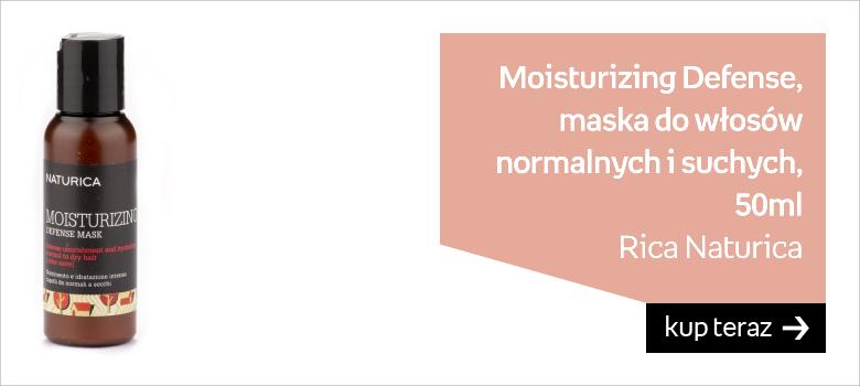 Rica Naturica Moisturizing Defense, Maska odżywczo-nawilżająca antyoksydacyjna do włosów normalnych i suchych 50ml