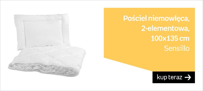 Sensillo, Pościel niemowlęca, 2-elementowa, 100x135 cm