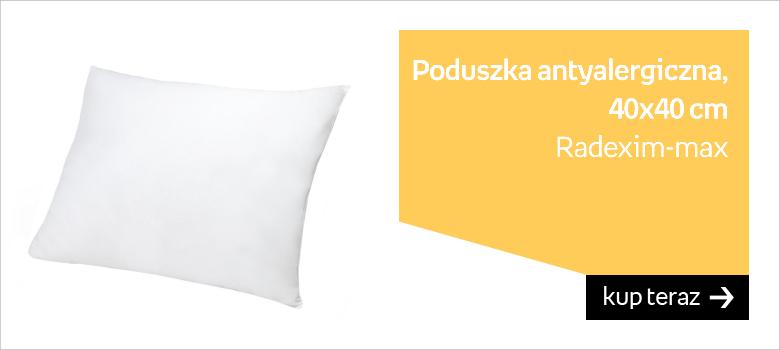 Radexim-max, Poduszka antyalergiczna, 40x40 cm