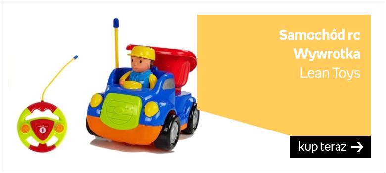 Auto rc dla małego dziecka