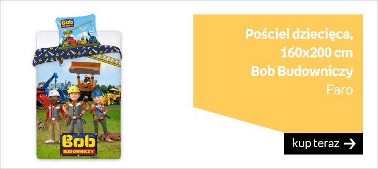 Bob Budowniczy pościel