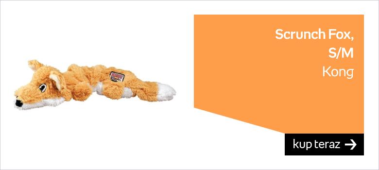 Kong Scrunch Fox S/M
