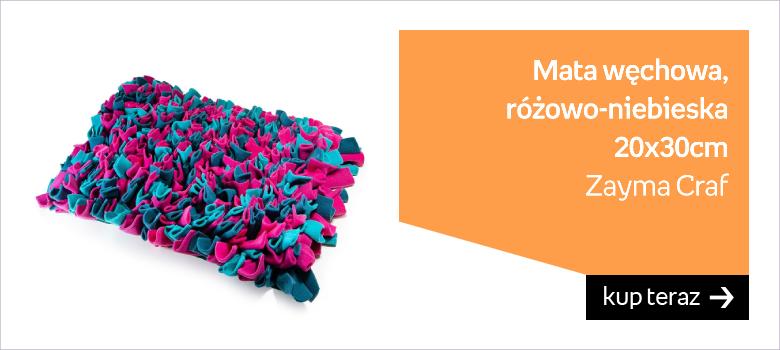 Zayma Craft Mata Węchowa różowo-niebieska 20x30cm